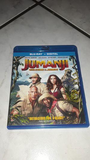 Movie   Jumanji BLU-RAY+DIGITAL for Sale in Santa Ana, CA