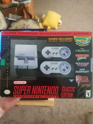 Super Nintendo Classic for Sale in Canton, OH