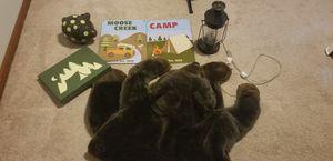 Kids camping room decor for Sale in Virginia Beach, VA