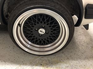 Nz wheels and tires for sale 4x100R16 the tires are 195/40zr16 Almost new for Sale in San Marcos, CA