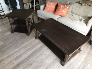 Matching Coffee Table and End Table for Sale in Portland, OR