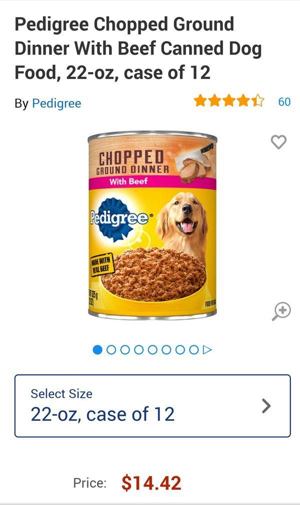 23 cans of Pedigree 22oz Choice Cuts I gravy