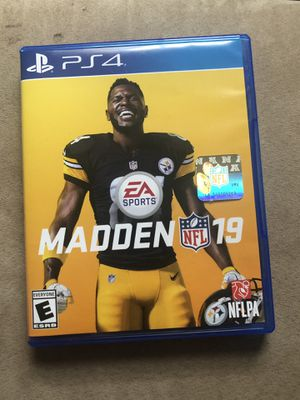 Madden 19 PS4 for Sale in Silver Spring, MD