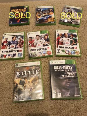 6 Xbox 360 Games for Sale in Chula Vista, CA