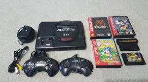 Sega Genesis with games, controllers, cords EVERYTHING! for Sale in Flower Mound, TX