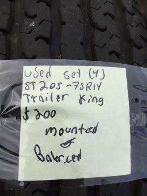 St205/75R14 set of 4 for Sale in Portland, OR