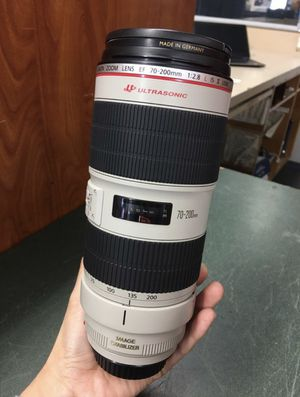 Canon 50mm 1.2 and Canon 70-200 mm 2.8 ii IS for Sale in Whittier, CA