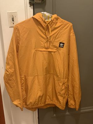 Adidas Yellow Anorak / Windbreaker - Size XL for Sale in Queens, NY
