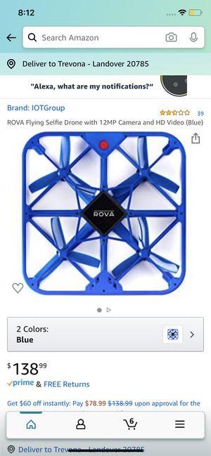 Rova selfie Drone for Sale in Columbia, MD