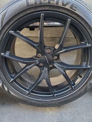 KMC 20s with almost new tires dodge magnum for Sale in CA, US