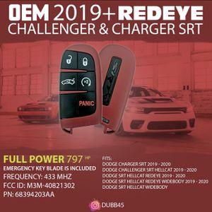 2019+ Dodge Redeye Keyfob OEM new for Sale in Bellaire, TX