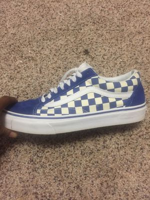 Checkerboard vans for Sale in Tallahassee, FL
