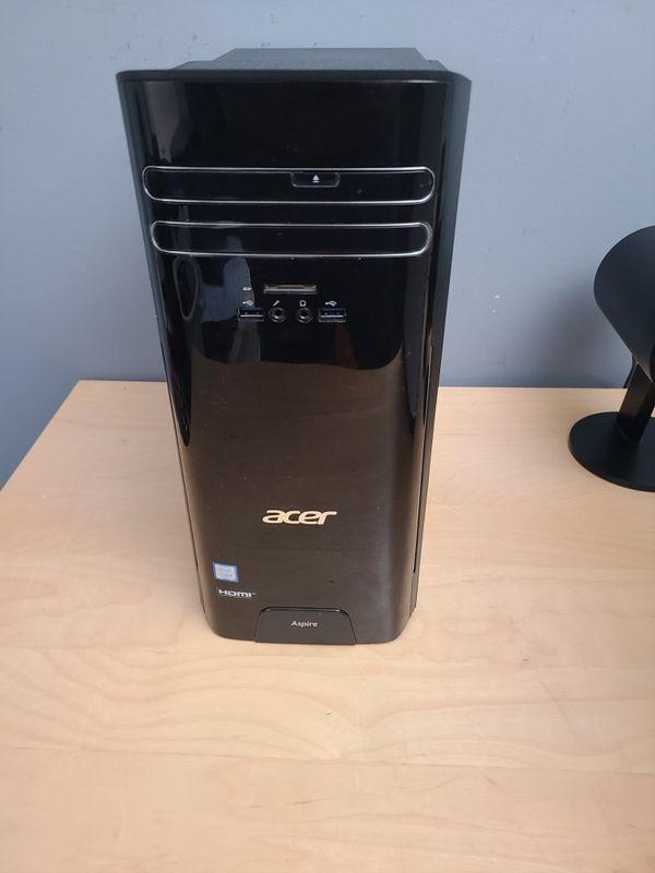 AC Wi-Fi Gaming Computer i5-7400 GTX1 060 6GB SSD 16GB DDR4 Ram
