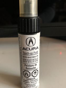 OEM Acura Touch Up Paint Pen Satin Silver Metallic NH623 MAA-PN Used for Sale in Los Angeles,  CA