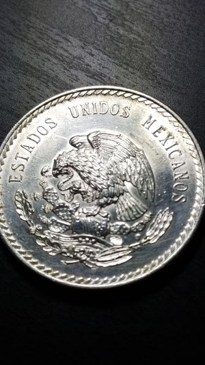 1948 Mexican Silver Cinco Pesos Coin. 30 g.0.900 pure silver for Sale in Savage, MN