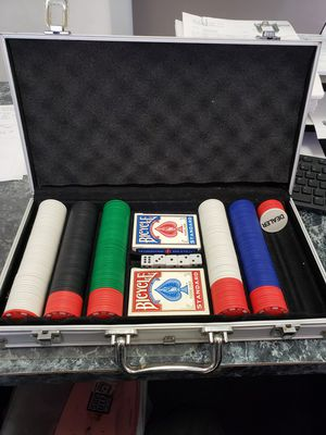 Poker Set for Sale in Compton, CA