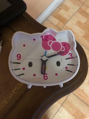 Hello Kitty Clock for Sale in Hialeah, FL
