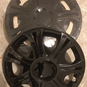 "15"" Ice Black Hub Caps Brand New for Sale in Chesapeake, VA"