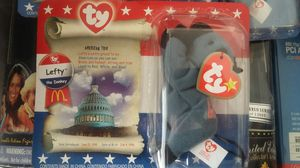 MCDONALD'S POLITICAL BEANIE BABIES 4 NEW for Sale in Las Vegas, NV