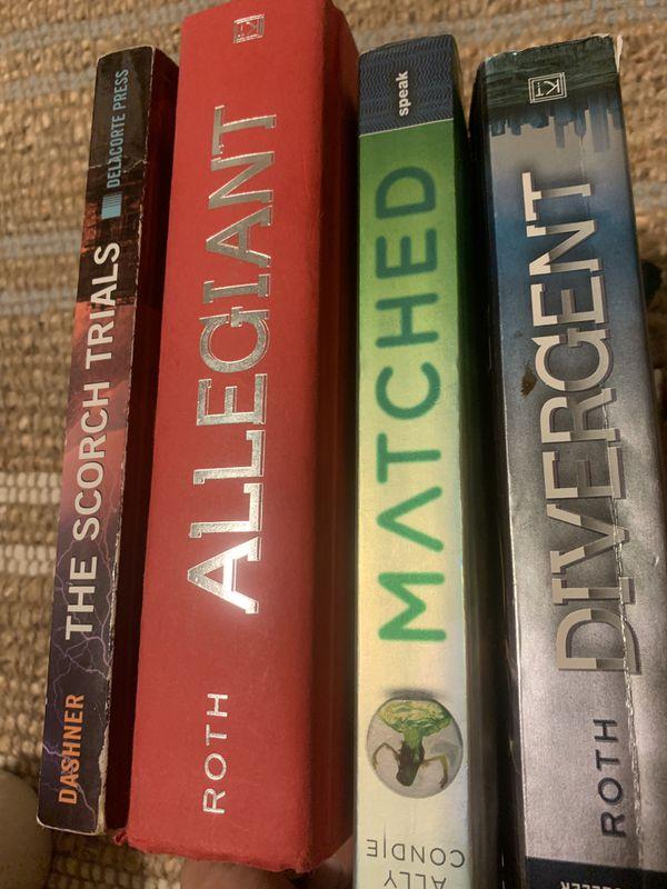 Books set of 4