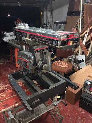 "Craftsman 10"" Radial Saw for Sale in Plantation, FL"