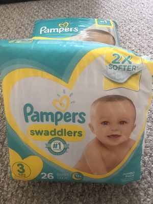 Pampers swaddles size 3 - $7 for Sale in SUNNY ISL BCH, FL