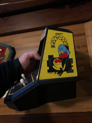 PAC man mini arcade game vintage for Sale in SEATTLE, WA