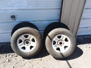 4 Jeep P225/75R16 rims and tires for Sale in Klamath Falls, OR