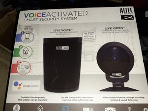 Altec Lansing voice activated Smart Security System for Sale in St. Petersburg, FL