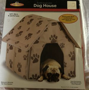 Small portable dog house $15 for Sale in Marlborough, MA
