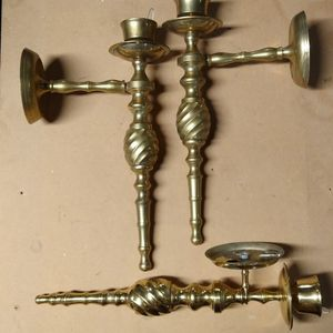 Brass Candle Holder (Sconces) for Sale in Feasterville-Trevose, PA