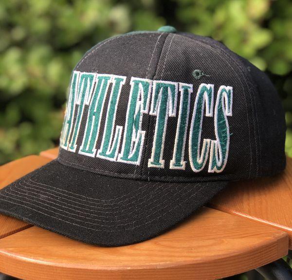 82833e7c Vintage Oakland Athletics A's Snapback Hat Starter Sports ...