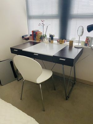 Desk plus chair set moderately used for Sale in Boston, MA