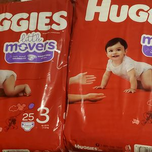 Huggies Size 3 $5 Each /cada Uno for Sale in Reedley, CA