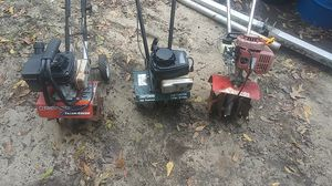 Tillers/ cultivator. Craftsman and troybuilt and mantis for Sale in Lexington, SC
