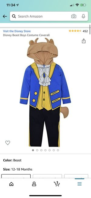 Beast costume for Sale in Grove City, OH