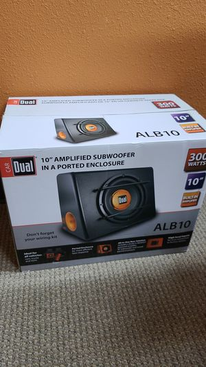 "Car audio Subwoofer 10"" with internal amplifier for Sale in Chula Vista, CA"