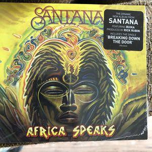 Santana cd Africa speaks for Sale in El Cajon, CA