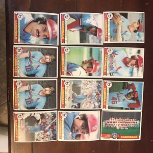 Topps Cardinals 1979 Baseball Cards for Sale in St. Charles, IL