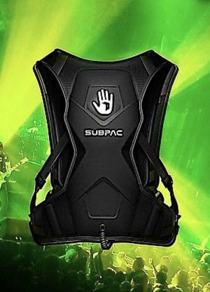 SubPac M2X Wearable Physical Audio System - Bass Backpack for Sale in Mason City, IA