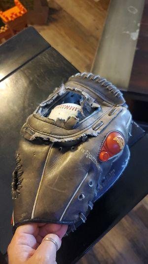Baseball glove and mit for Sale in Modesto, CA