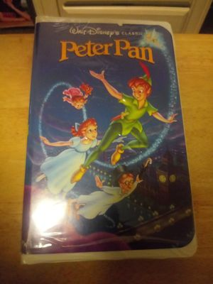 Peter pan Black diamond edition vhs for Sale in Laurel, DE