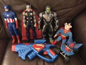 SUPER HERO TOYS! for Sale in Las Vegas, NV