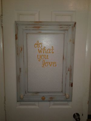 Wall decor - repurposed kitchen cabinet door for Sale in Oakland Park, FL