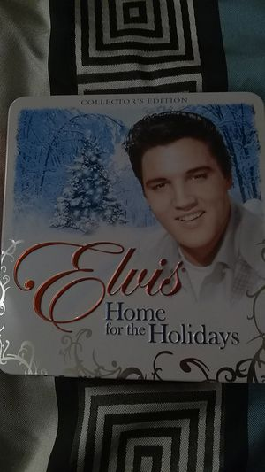 Elvis Presley collectors item Christmas CD with postcards for Sale in West Palm Beach, FL