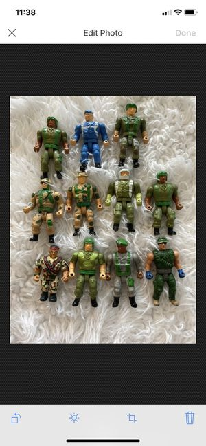 """Vintage Small Soldiers Action Figures Approximately 2"""" Tall for Sale in Fayetteville, NC"""