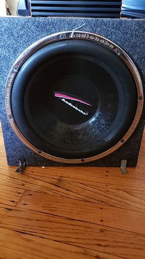Quantum audio 800 watt amplifier 12in subwoofer for Sale in Oakland, CA