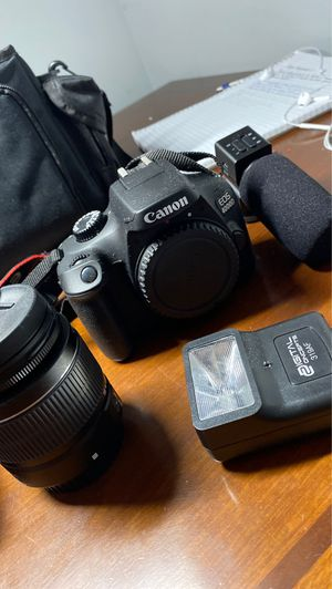 Canon EOS 4000D package for Sale in Loganville, GA