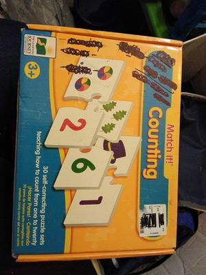Educational games or puzzles. Helps with words and counting. for Sale in Mesa, AZ
