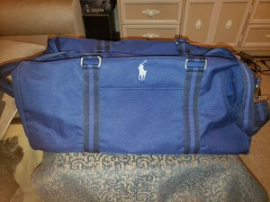 Polo overnight/ gym bag for Sale in Brandon, FL